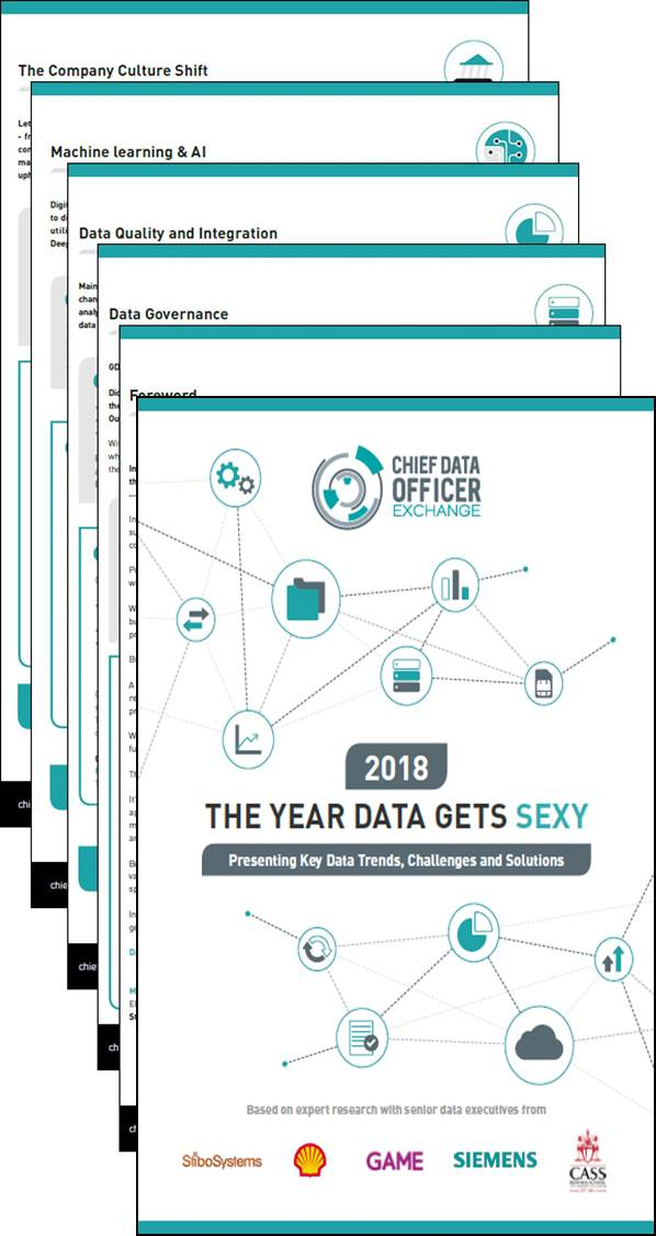 2018 The Year Data Gets Sexy?