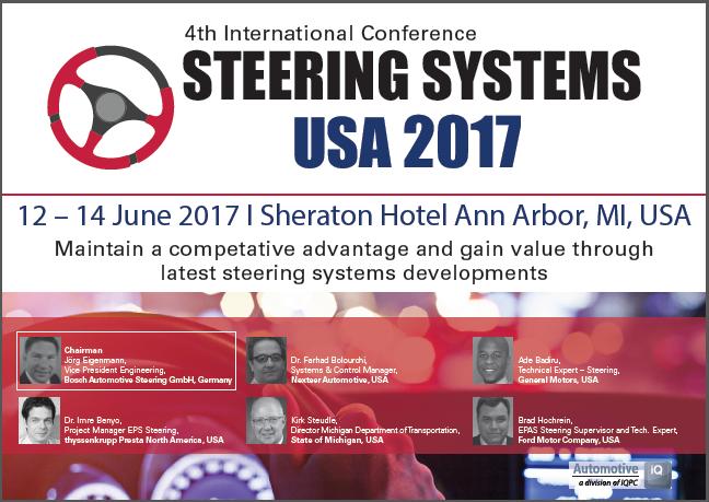Steering Systems USA 2017 Agenda