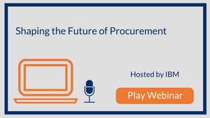 Shaping the Future of Procurement