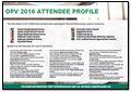 OPV 2016 Attendee Profile