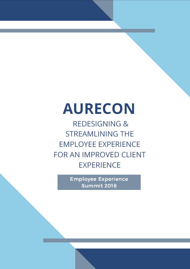 Aurecon: Redesigning & Streamlining the Employee Experience for an Improved Client Experience