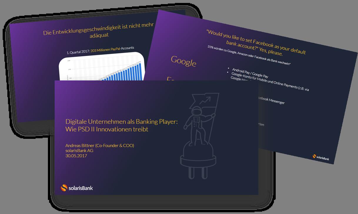 solarisBank: Digitale Unternehmen als Banking Player