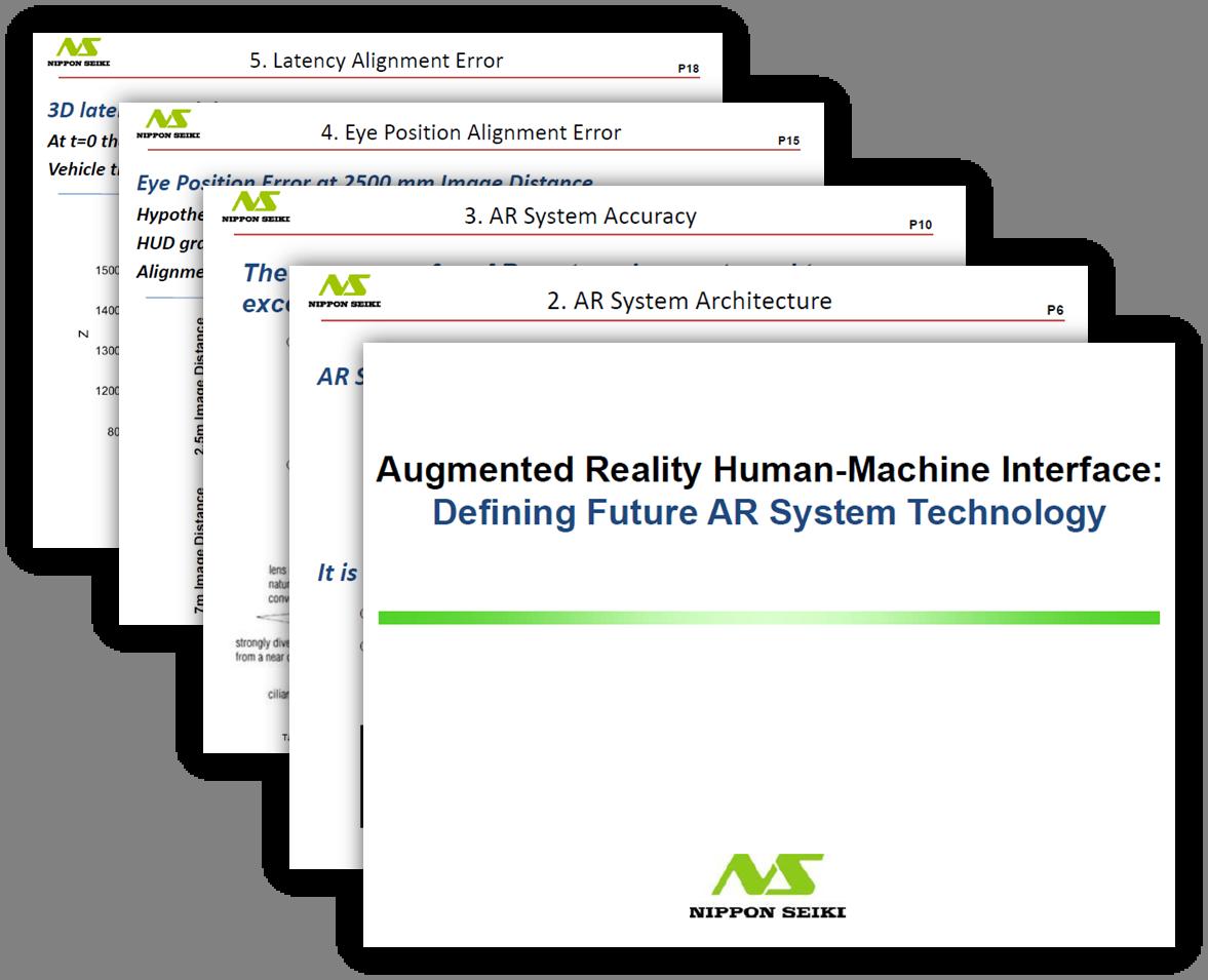 AR HMI - Defining Future HUD System Architecture