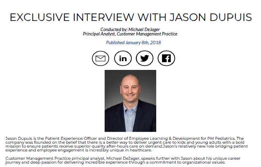 Exclusive Interview With Jason Dupuis
