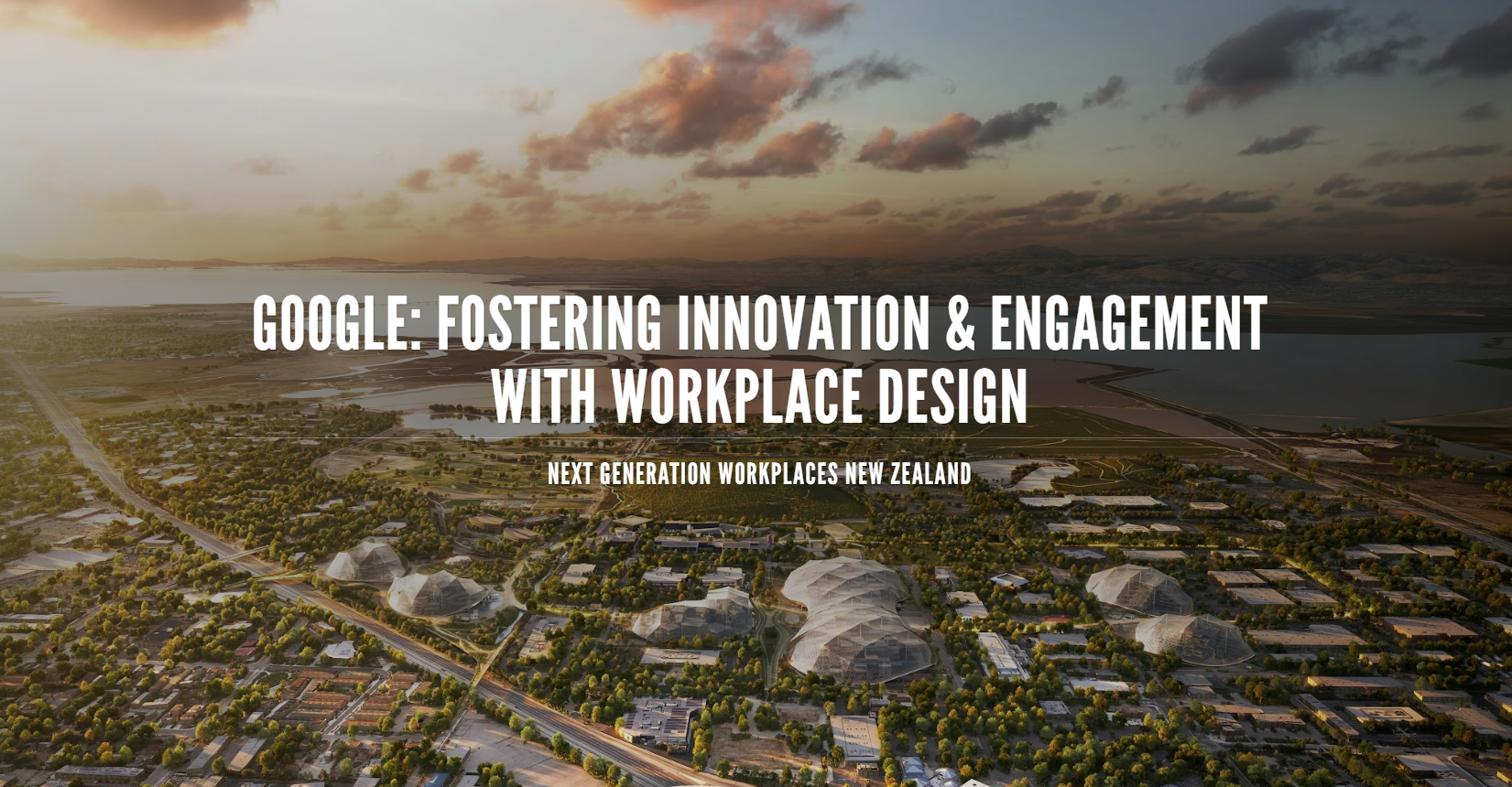 Google: Fostering Innovation & Engagement with Workplace Design