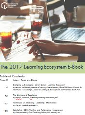 The 2017 Learning Ecosystem E-Book