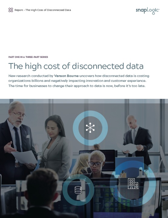 Snaplogic: The high cost of disconnected data