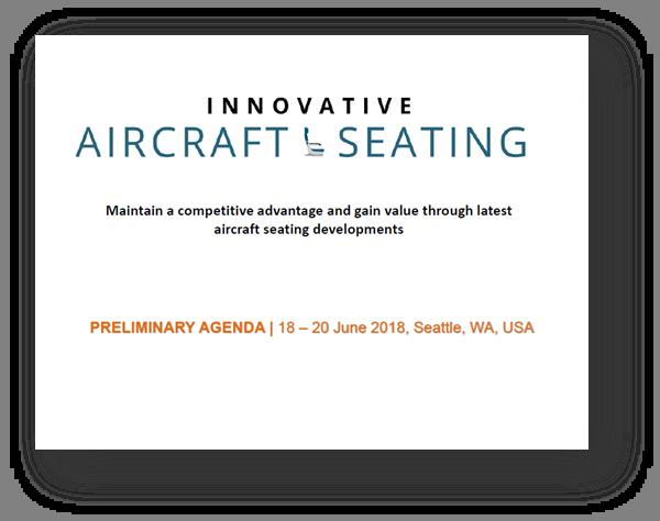 Aircraft Seating agenda 2018