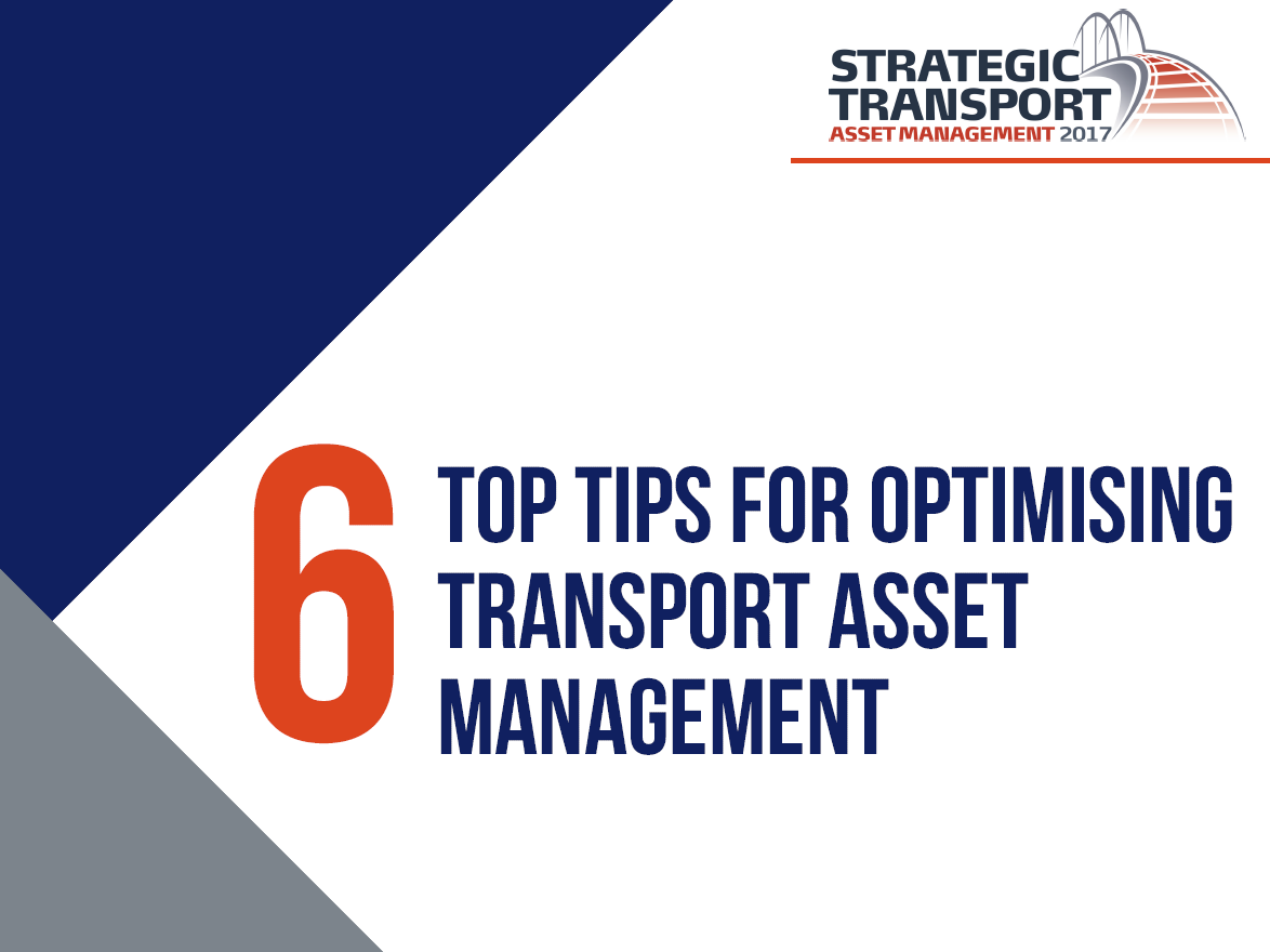 6 Top Tips for Optimising Transport Asset Management