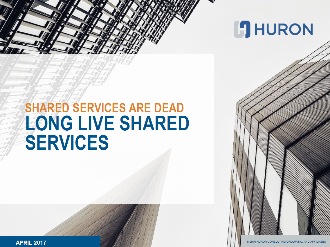 Long Live Shared Services