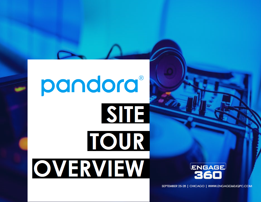 Pandora Site Tour Overview