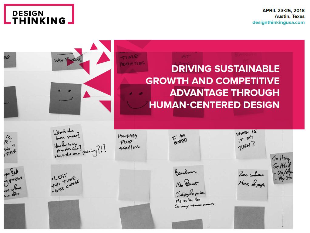 2018 Design Thinking Brochure