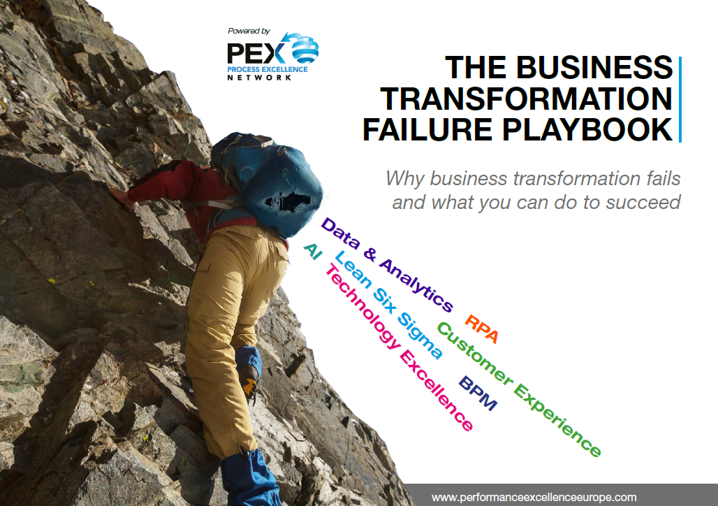 The Business Transformation Failure Playbook