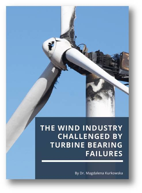 The wind industry challenged by turbine bearing failures