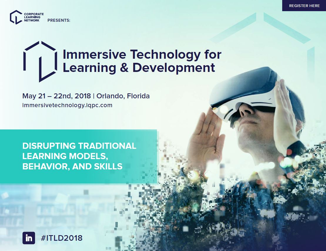 Agenda - Immersive Technology Learning and Development Summit