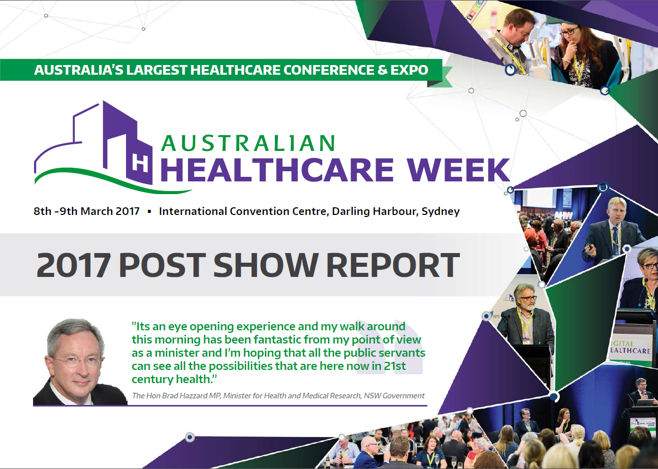 Australian Healthcare Week 2017 Post Show Report