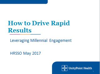 How to Drive Rapid Results: Leveraging Millennial Engagement
