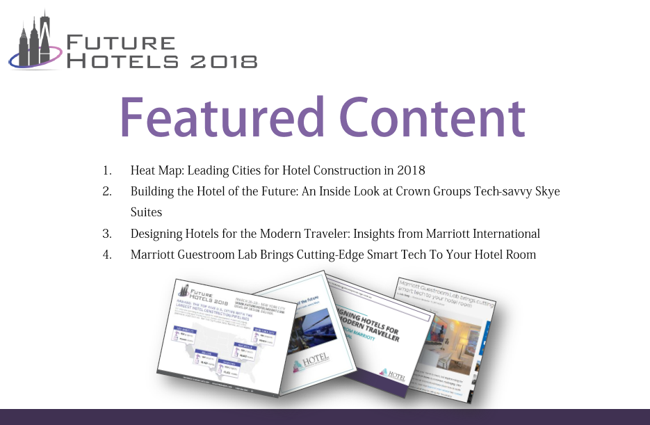 Featured Content: Future Hotels in the News