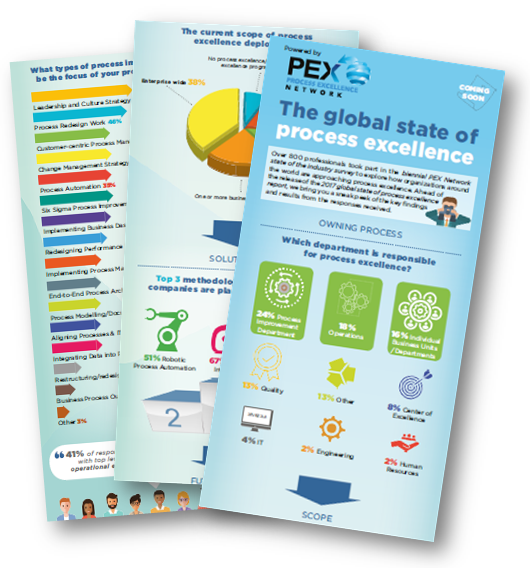 [Infographic] The Global State of Process Excellence