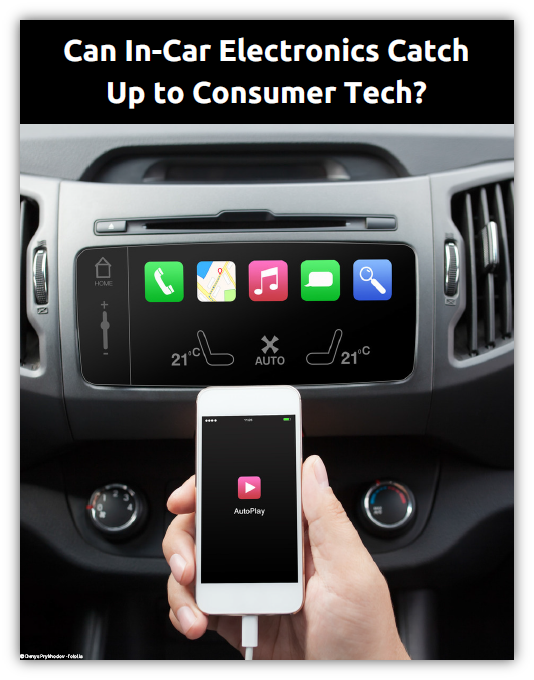 Can Vehicle HMI Technology Catch Up to Consumer Electronics