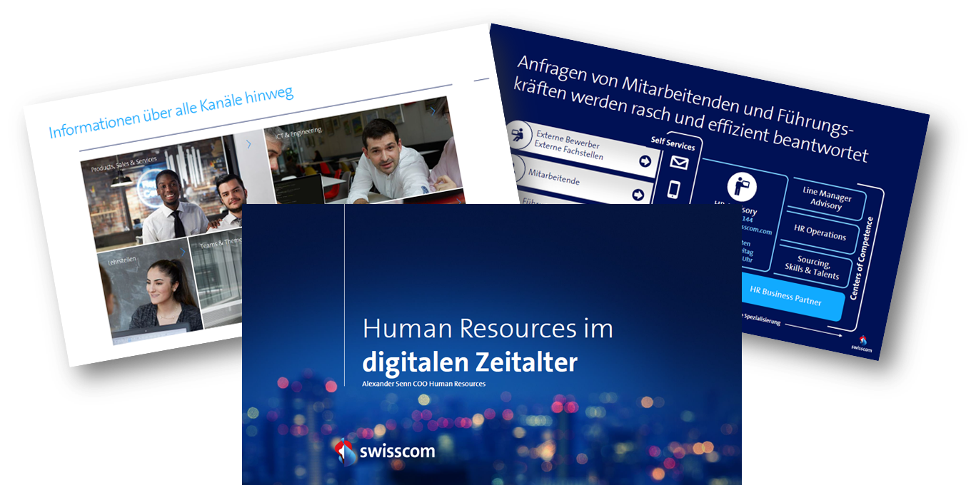 Swisscom: Human Resources im digitalen Zeitalter