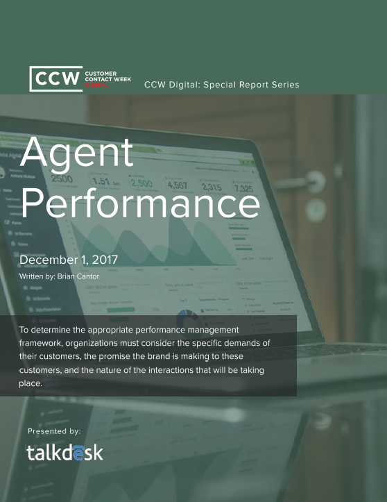 CCW Digital Special Report - Agent Performance