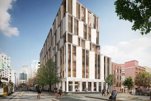 University of Melbourne proposes high-rise student accommodation in heritage-listed factory precinct