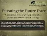 U.S. Army Robotic and Autonomous Systems Strategy Report
