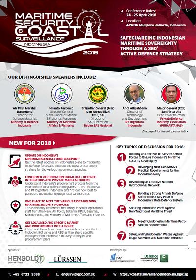 Maritime Security and Coastal Surveillance Indonesia 2018 Brochure