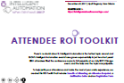 Attendee ROI Toolkit: Intelligent Automation New Orleans