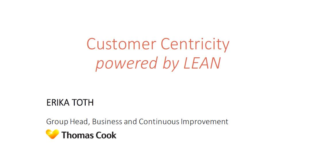 Customer Centricity Powered by LEAN