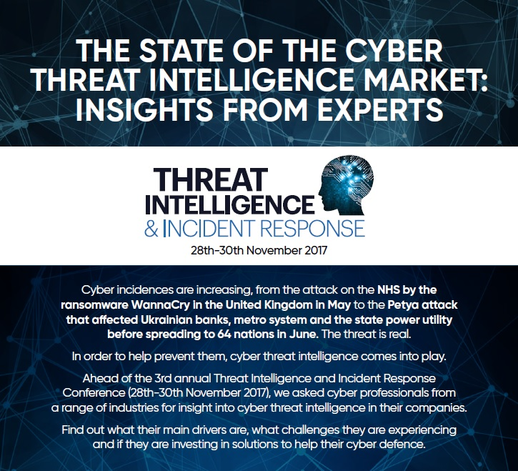The state of the cyber threat intelligence market: insights from experts