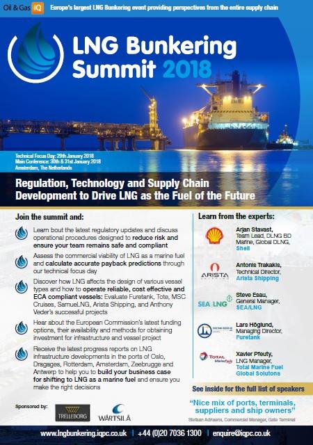 LNG Bunkering Agenda