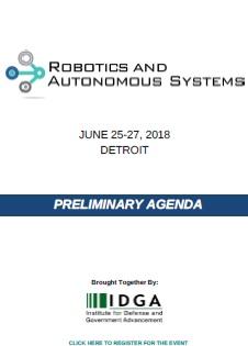 Robotics & Autonomous Systems Preliminary Agenda - SPEX