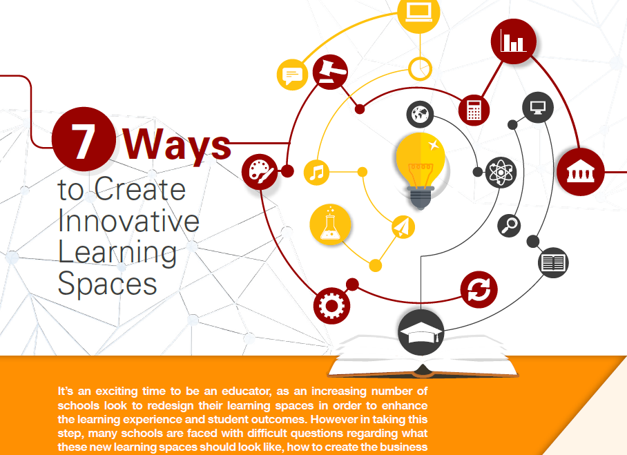 7 Ways to Create Innovative Learning Spaces