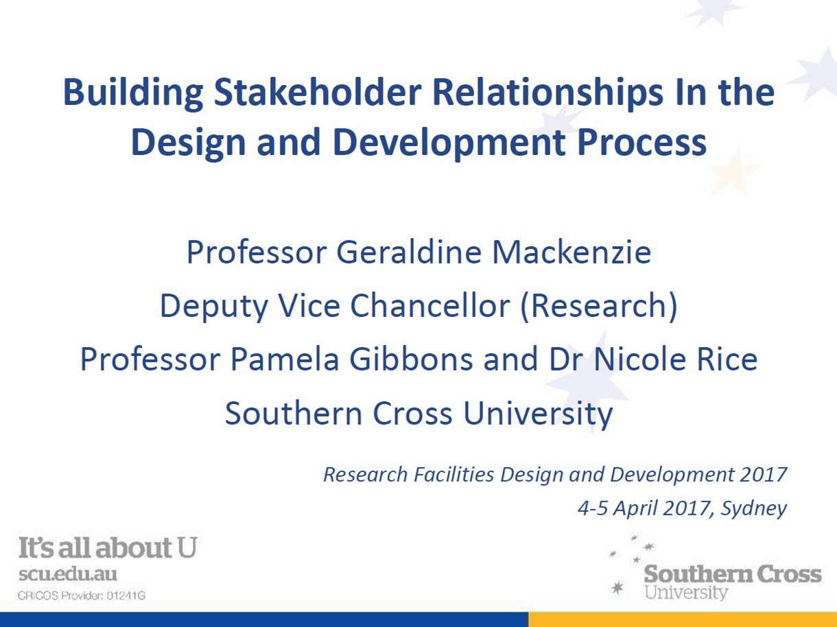 Building Stakeholder Relationships in the Design and Development Process