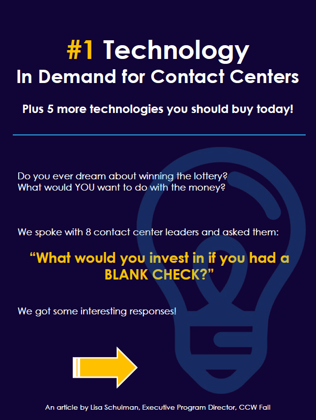 Top 5 Technologies for Contact Centers