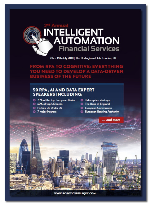 Download the Intelligent Automation: Financial Services FULL Brochure