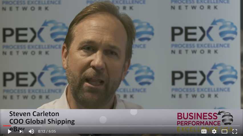 [VIDEO] 'Be the Customer' - Exclusive Interview with Steven Carleton, COO, Global Shipping, eBay Inc