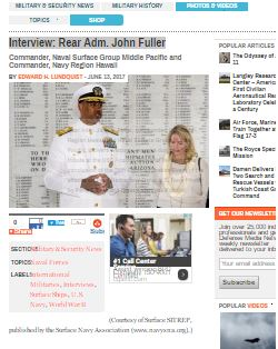 Interview: Rear Adm. John Fuller by Edward Lundquist