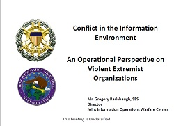 Conflict in the Information Environment