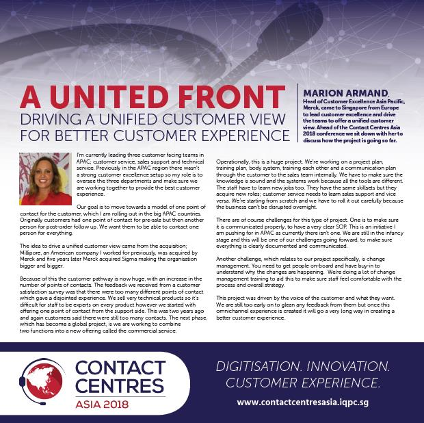 Driving a Unified Customer View for Better Customer Experience