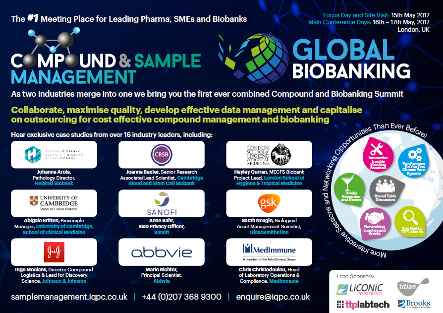 Compound and Biobanking Management