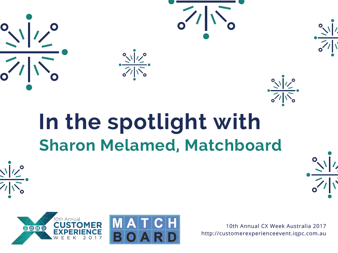 In the spotlight with Sharon Melamed, Matchboard