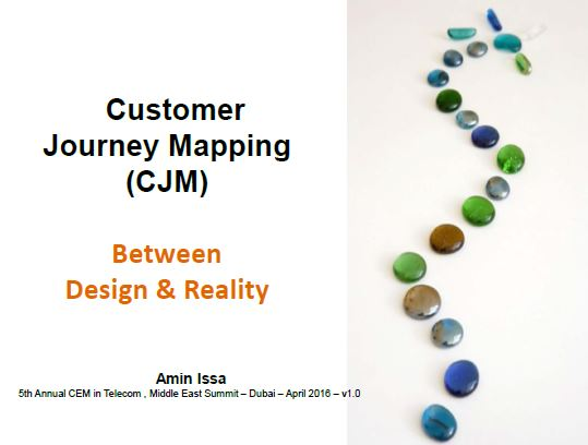 8 customer journey mapping between design and reality