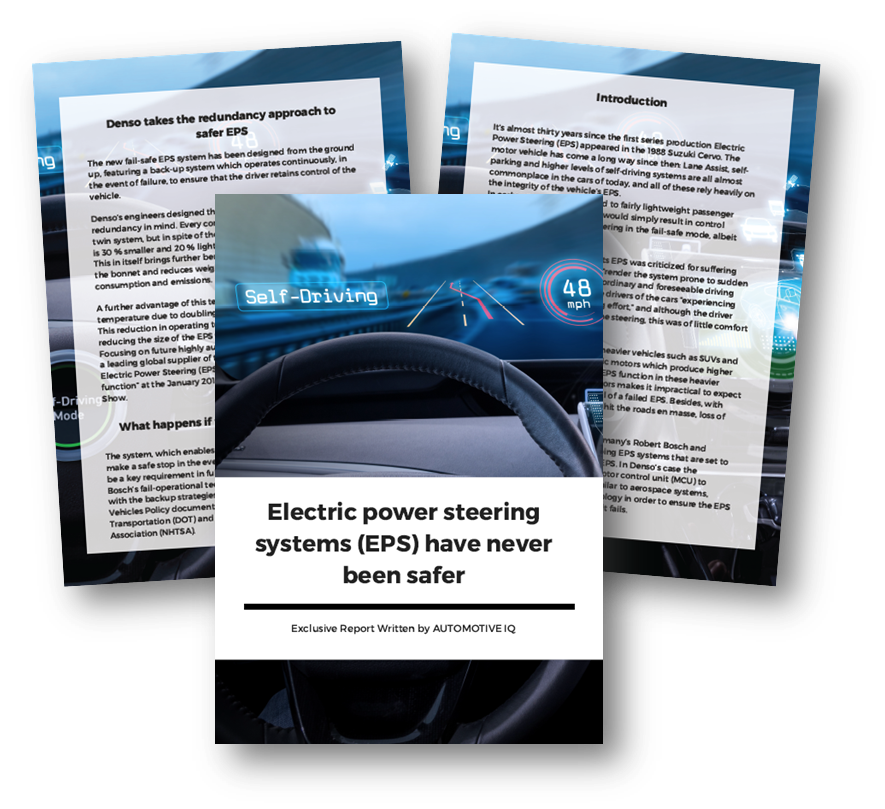 Electric Power Steering Systems (EPS) have never been safer