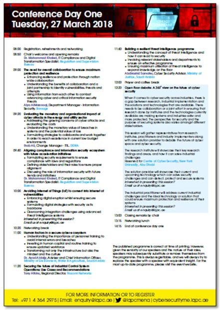 Agenda at-a-glance