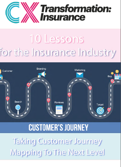 10 Lessons For the Insurance Industry on Taking Customer Journey Mapping to the Next Level