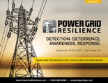 6th Power Grid Resilience 2017 Agenda