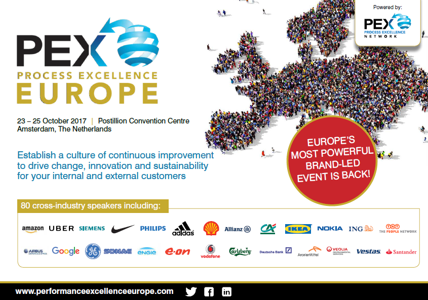 Process Excellence Europe Full Agenda Now Available!